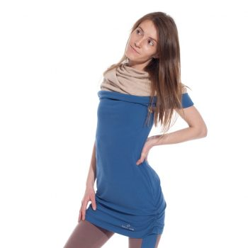 canopy multiway tunic in navy blue color
