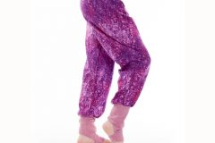 The freespirit pants in purple galaxy color