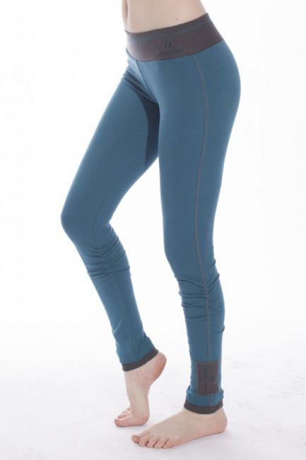 deep teal winter wonder leggings