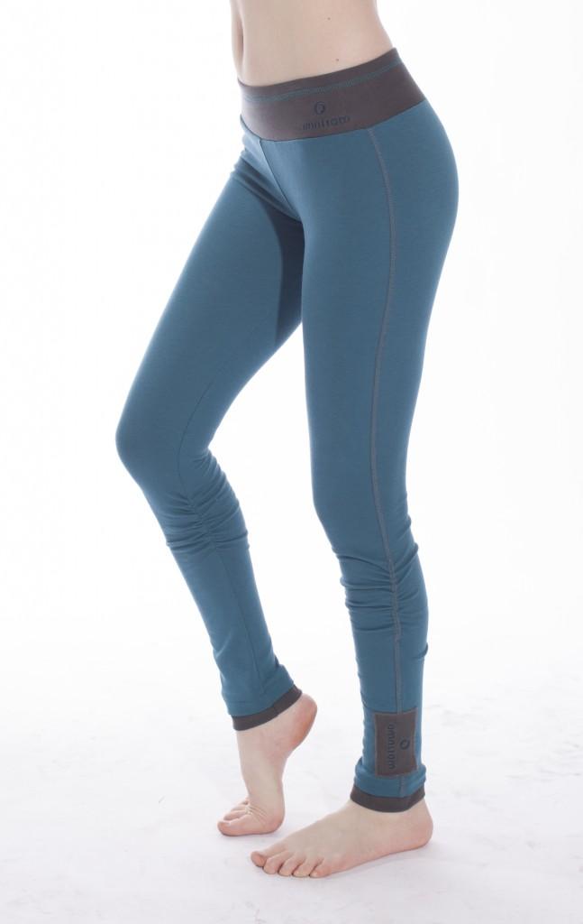 deep teal winter wonder leggings