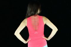 Rock Om Roll Top in Coral
